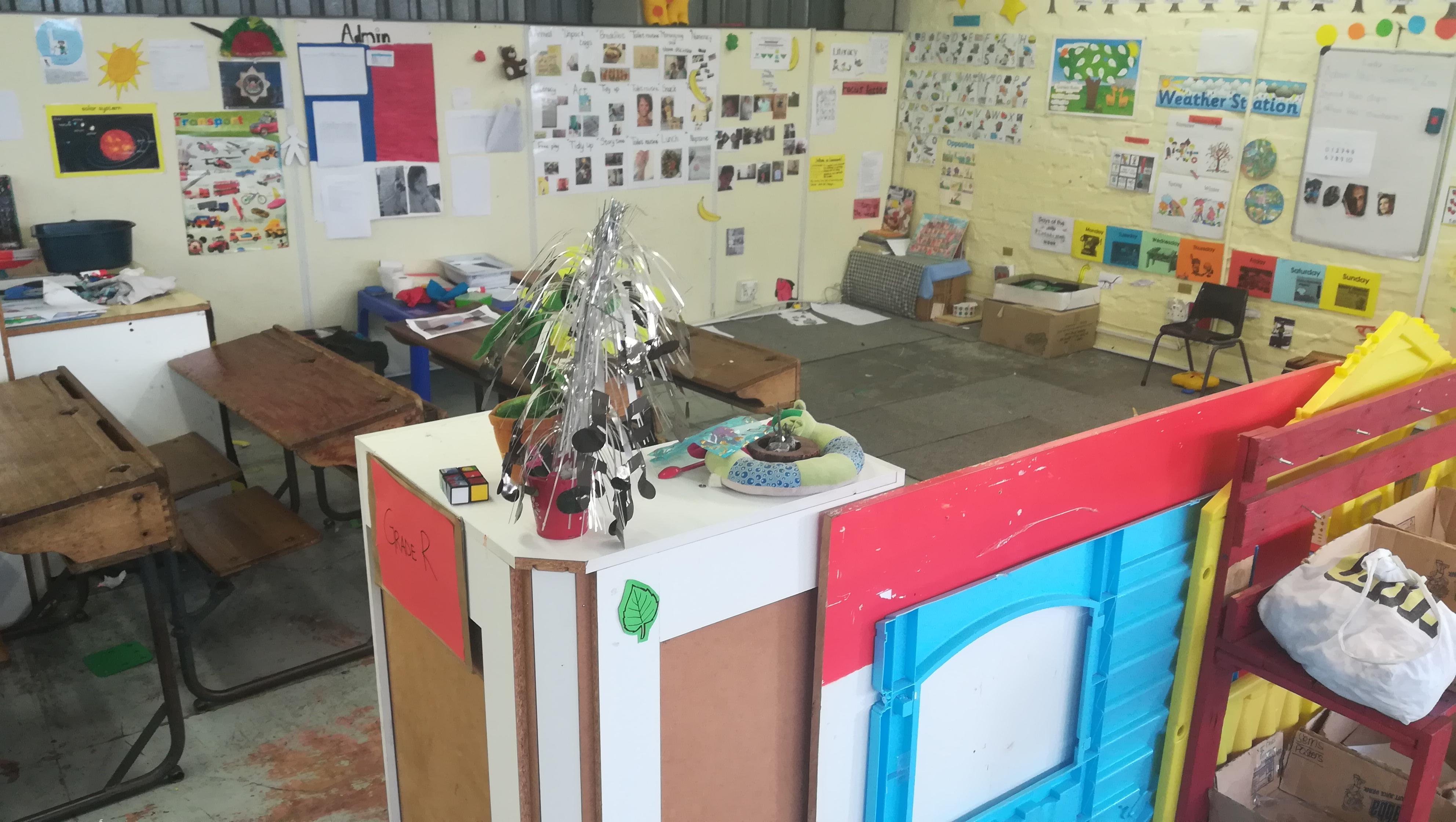 KPZ Grade R classroom